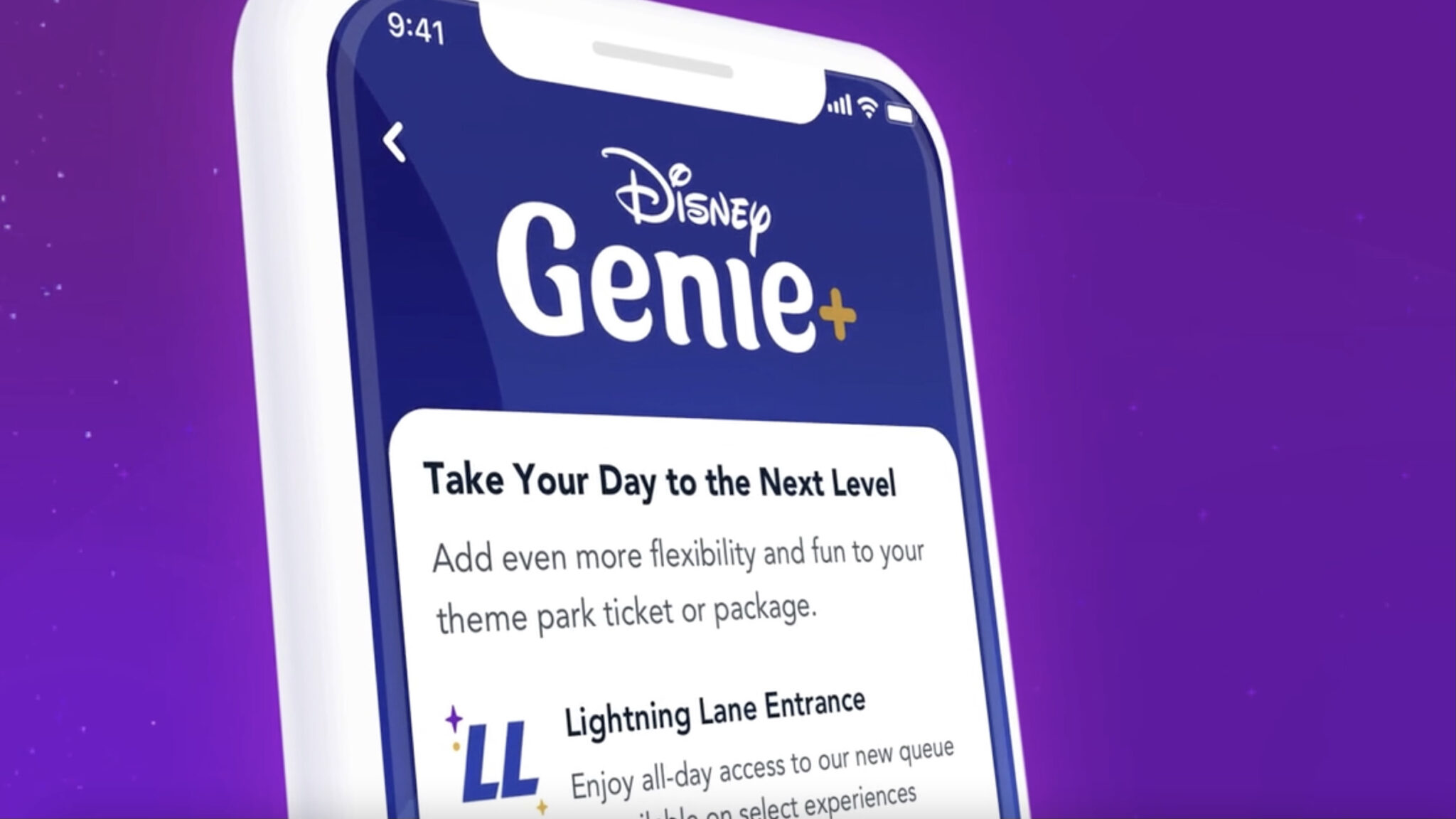 Theme Park Upgrades - Genie