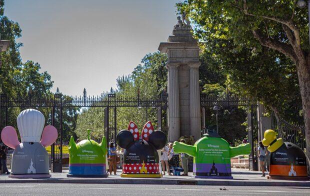 Disneyland Paris - Campaña de reciclaje de vidrio en España