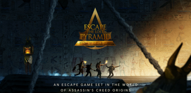 """Ubisoft and Storyland collaborate to create Escape the Lost Pyramid based on """"Assassins' Creed."""""""