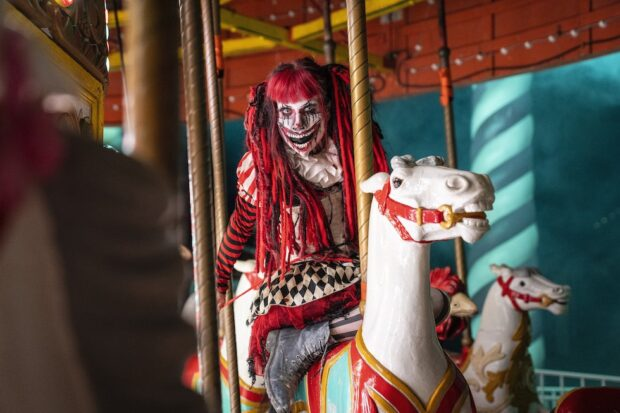 Six Flags Great Adventure Fright Fest - Clown