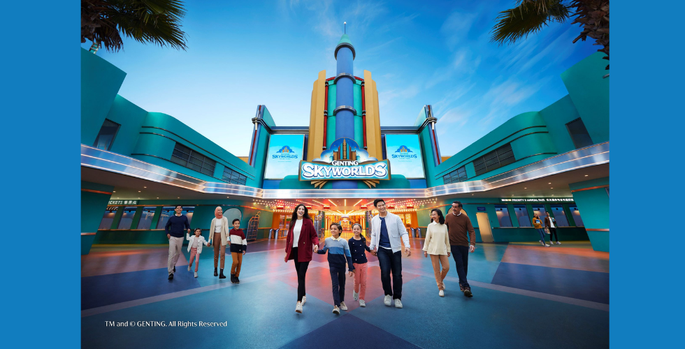 Genting SkyWorlds announces worlds for upcoming theme park.