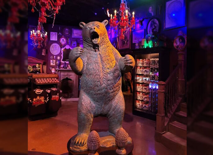 Don't worry, Universal made sure to represent the HHN Bear as well.
