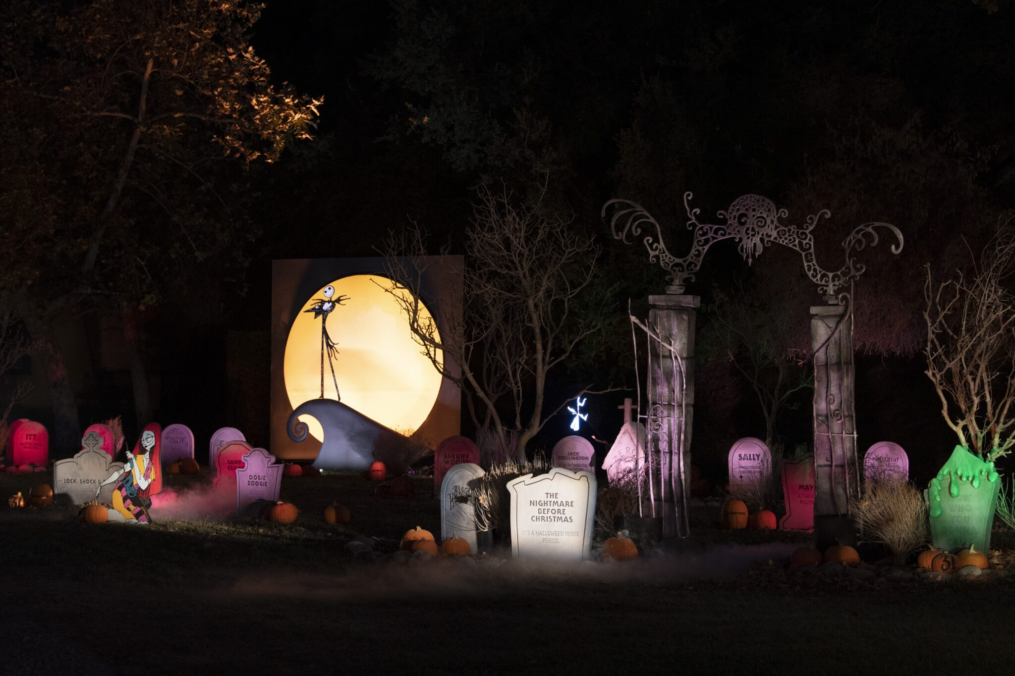 freeform's halloween road - Nightmare Before Christmas