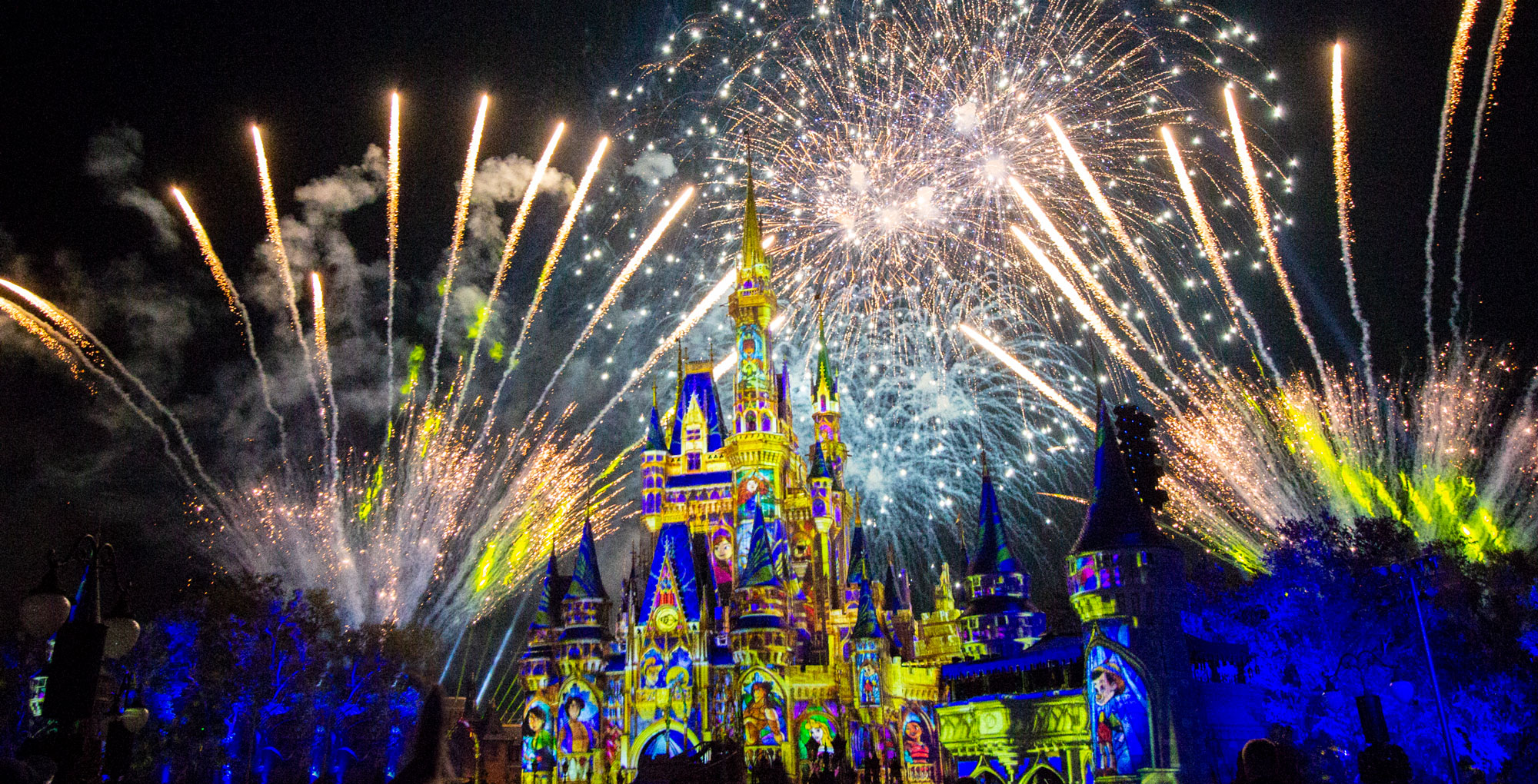 Happily Ever After finale at the Magic Kingdom.
