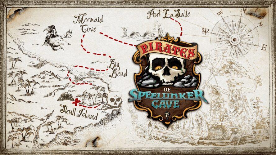 pirates of speelunker cave key art