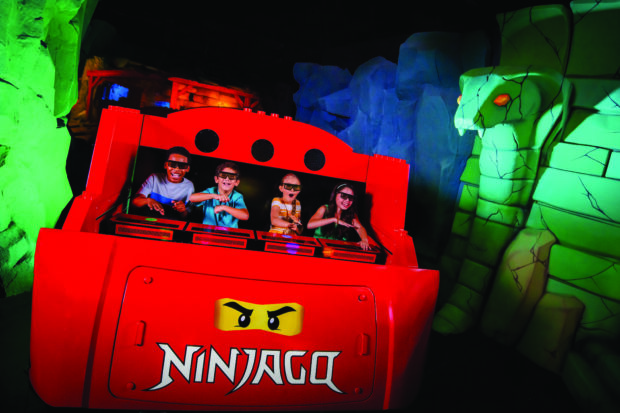 Legoland California Resort - Lego Ninjago