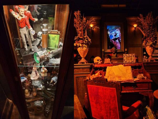 Hidden details inside the Halloween Horror Nights Tribute Store.