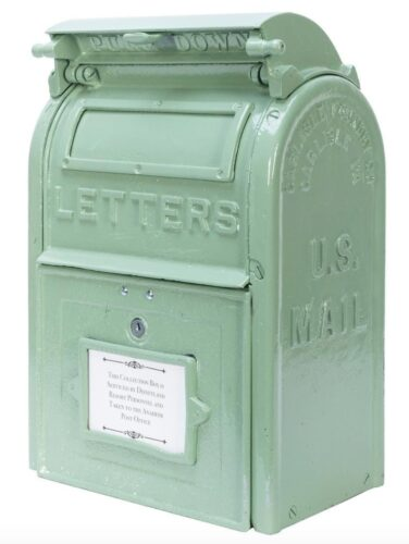 Potter & Potter Disney Auction - Disneyland mailbox
