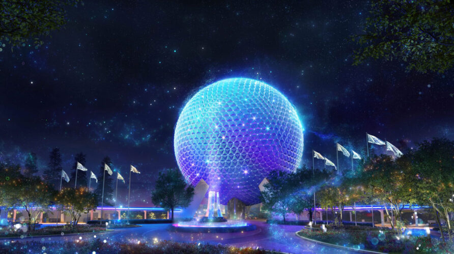 Spaceship Earth will be a beacon of magic during the 50th anniversary of Walt Disney World.