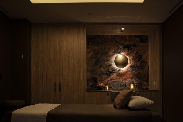Tenaya Stone Spa treatment room