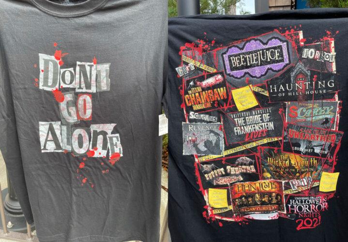 Halloween Horror Nights 30 haunted house shirt.