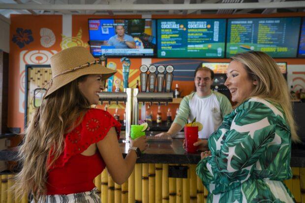 Adventure Island Hang Ten Tiki Bar