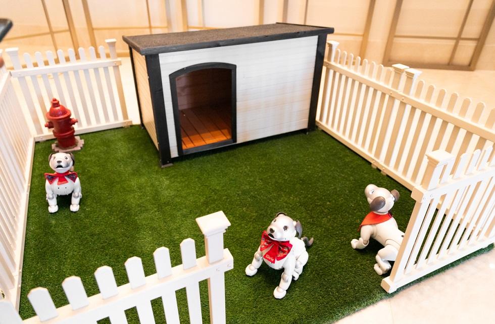 Resort World Las Vegas robotic puppies