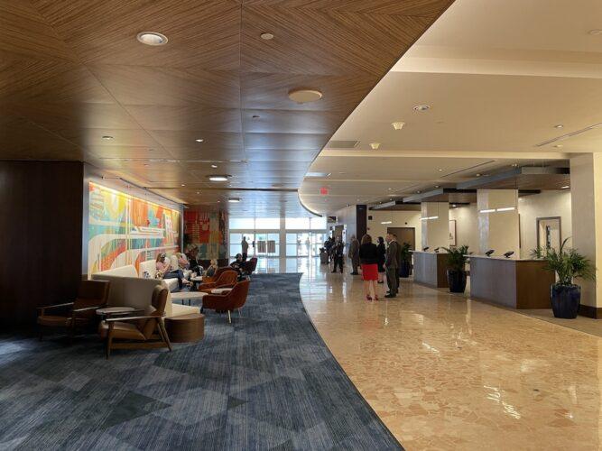 updated lobby