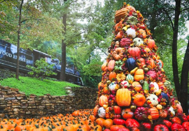 Dollywood Harvest Festival ambiance