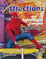 Spider-man in Avenger's Campus