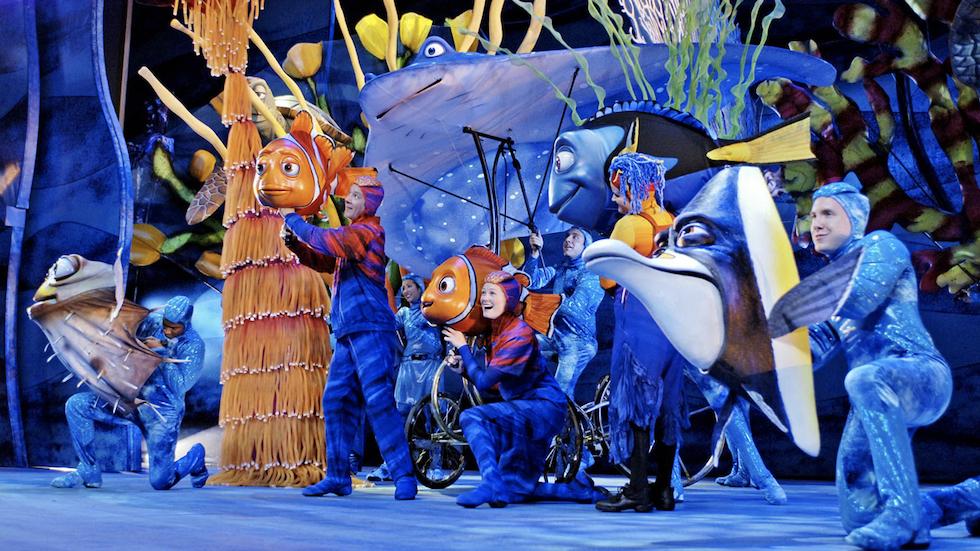 theme park musicals