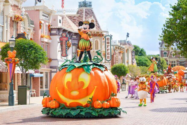Hong Kong Disneyland Halloween Time - Parade