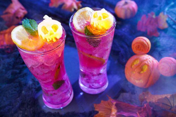 Hong Kong Disneyland Halloween Time - Poison Apple Drink