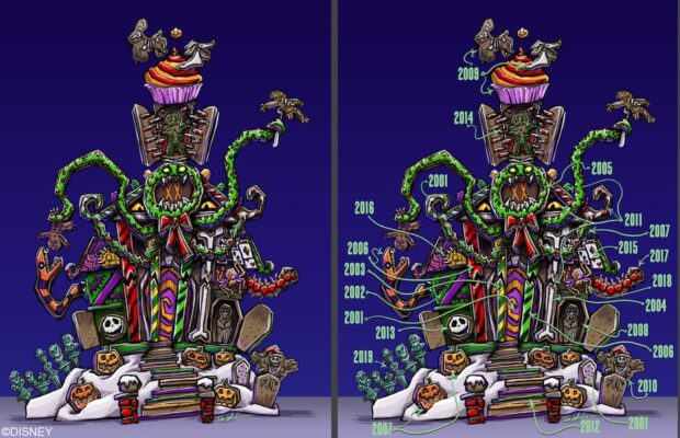 Haunted Mansion Holiday Gingerbread house Concept Art