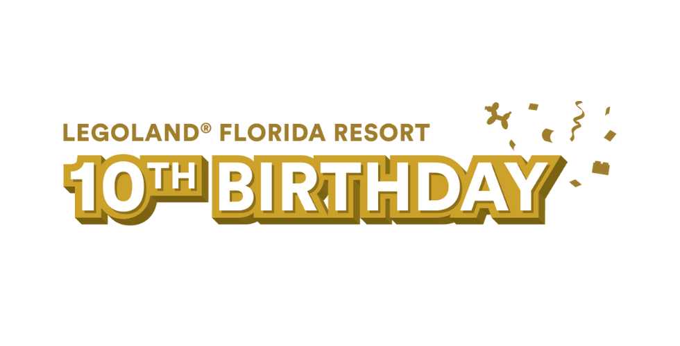 LEGOLAND in Florida celebrates 10 years this October.
