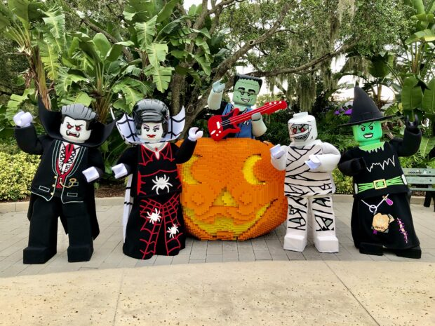 Meet the monsters of LEGOLAND during Brick or Treat this October.