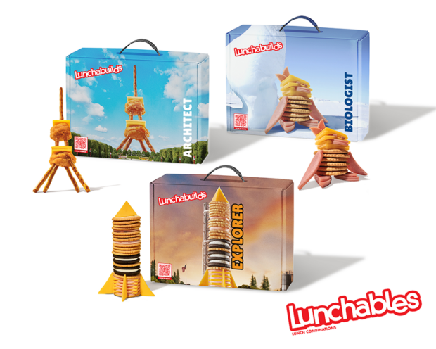 Lunchables Lunchabuilds building kits