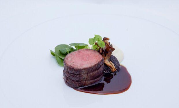 Shula's Steak House beef tenderloin