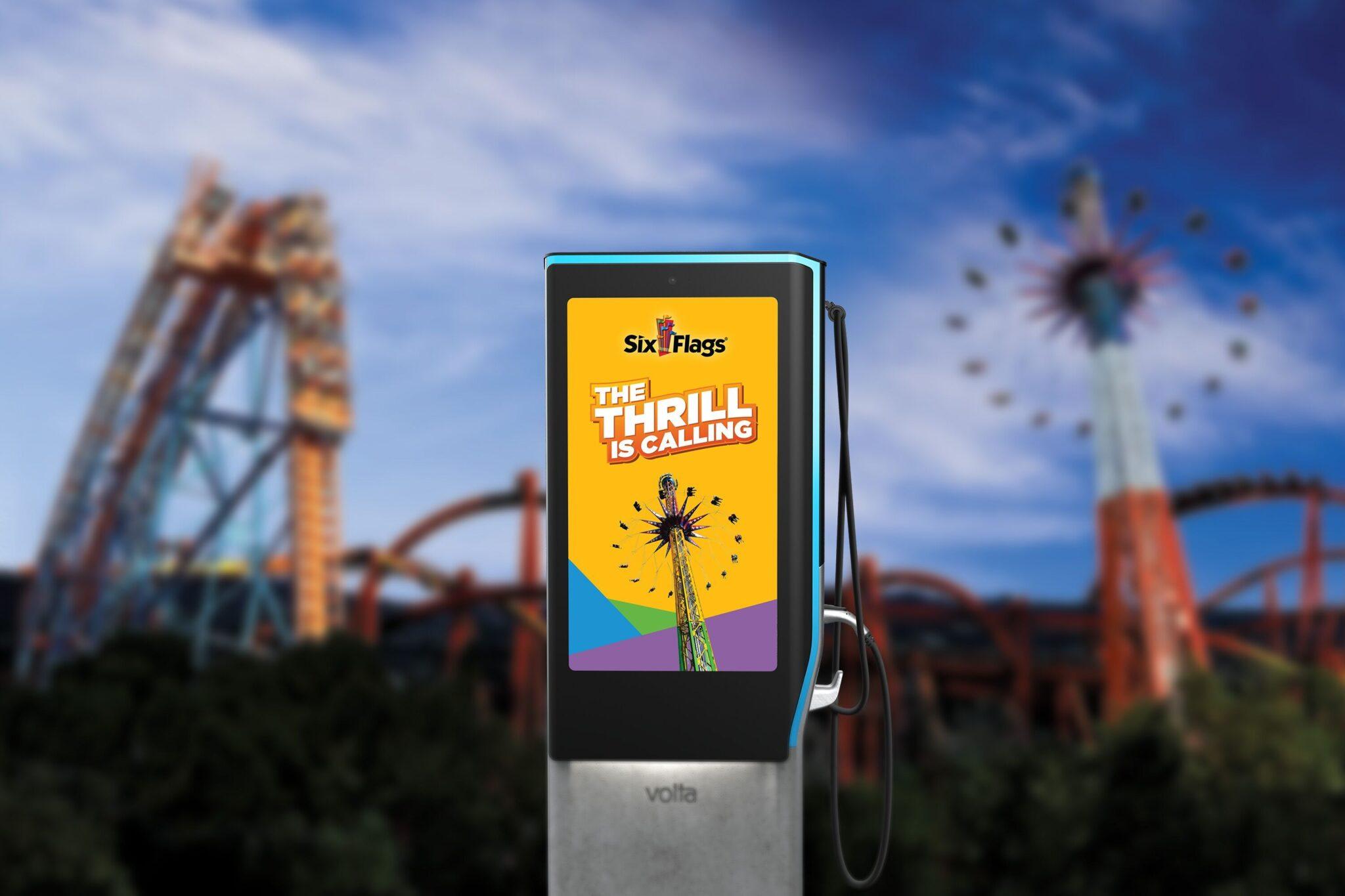 Six Flags Volta EV charging stations
