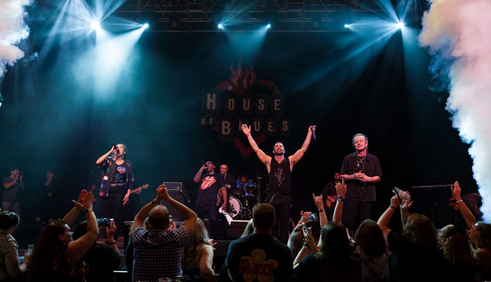 Mousketeers from The Party perform at House of Blues