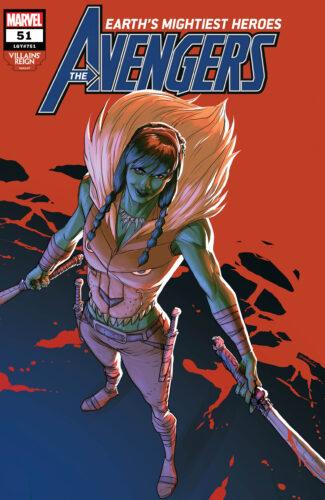 Villains' Reign Variant Covers - Avengers