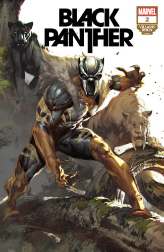 Villains' Reign Variant Covers - Black Panther