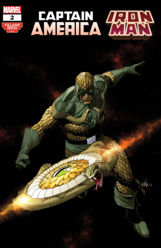 Villains' Reign Variant Covers - Captain America