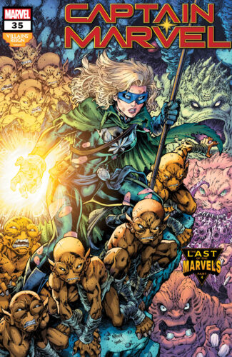 Villains' Reign Variant Covers - Captain Marvel