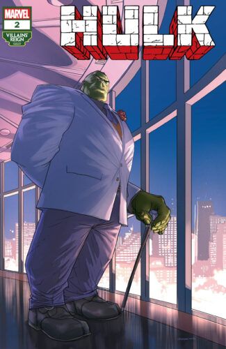 Villains' Reign Variant Covers - Hulk