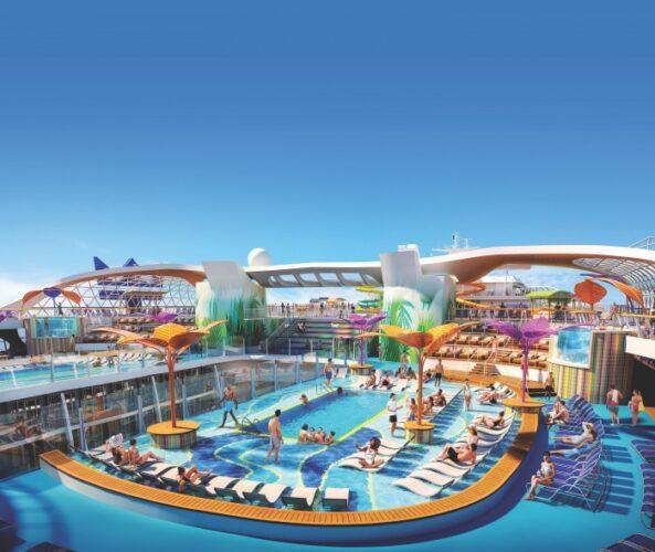 Royal Caribbean Wonder of the Seas - Pool Deck Experience