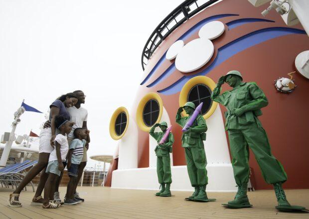 Disney Cruise Line - Green Army Men