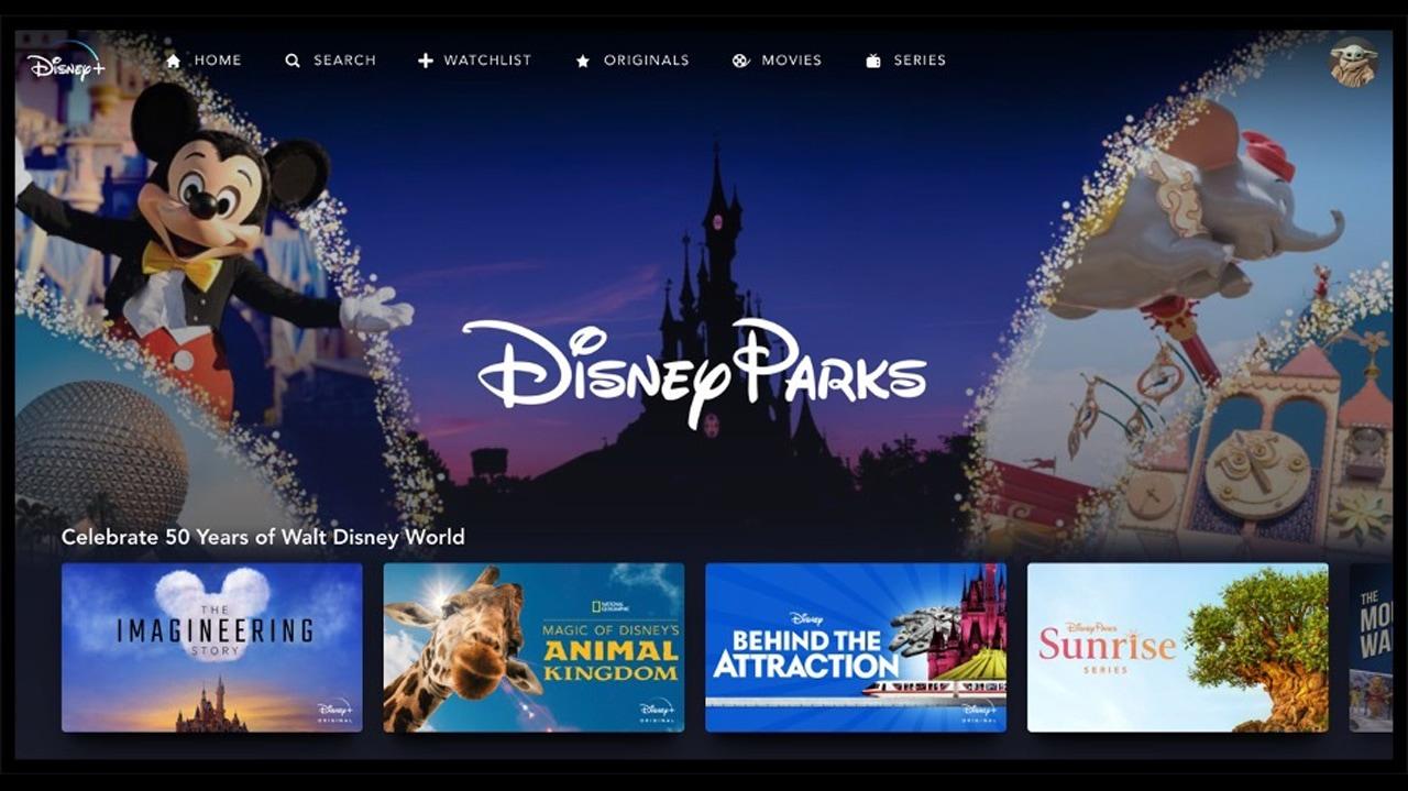 Disney+ Disney Parks Collection