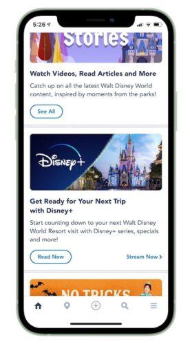 Disney+ on My Disney Experience