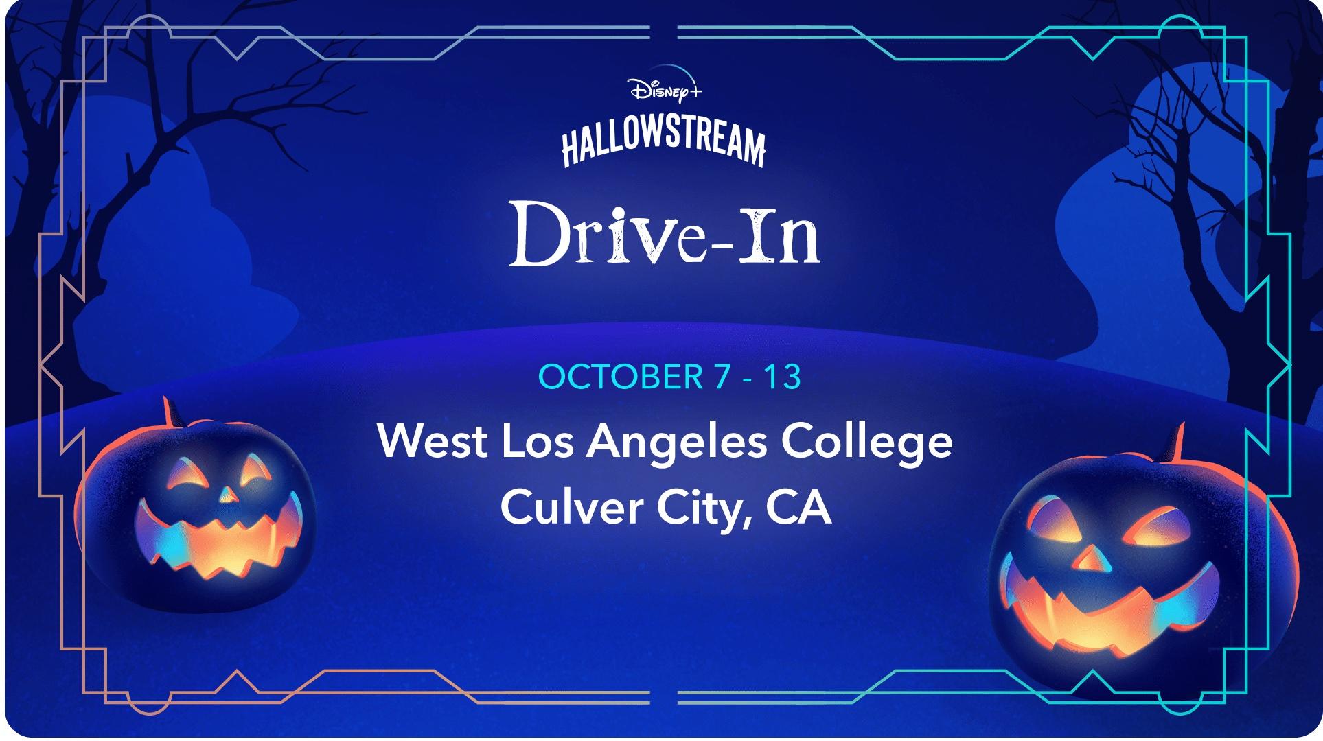 Disney+ Hallowstream Drive-In