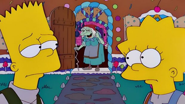 Disney+ Hallowstream Drive-In - Simpsons Treehouse of Horror