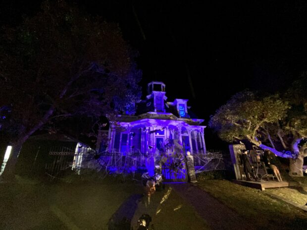 Freeform's Halloween Road - Addams Family House