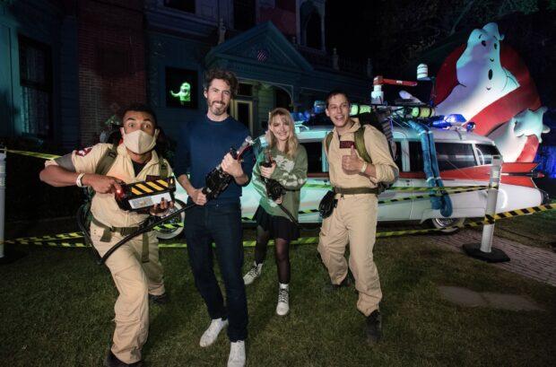 Freeform's Halloween Road - Jason Reitman and McKenna Grace