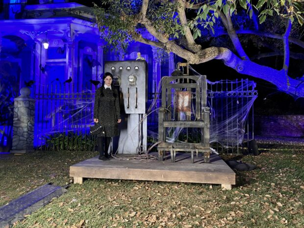Freeform's Halloween Road - Pugsley's Electric Chair