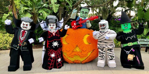 Legoland Florida Brick or Treat - Characters