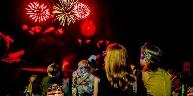 Legoland Florida Brick or treat - Fireworks