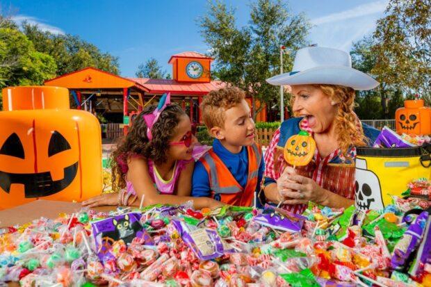 Legoland Florida halloween