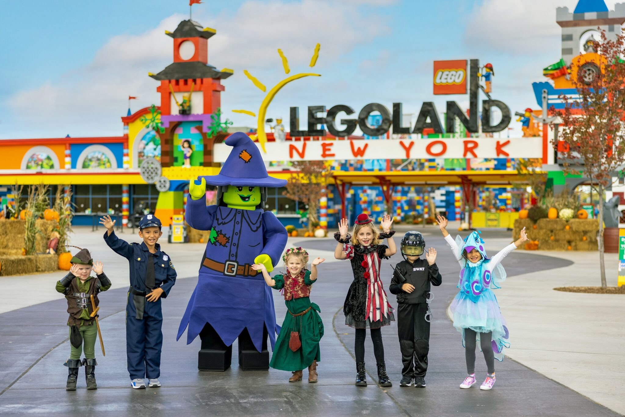Legoland New York Resort Brick-Or-Treat
